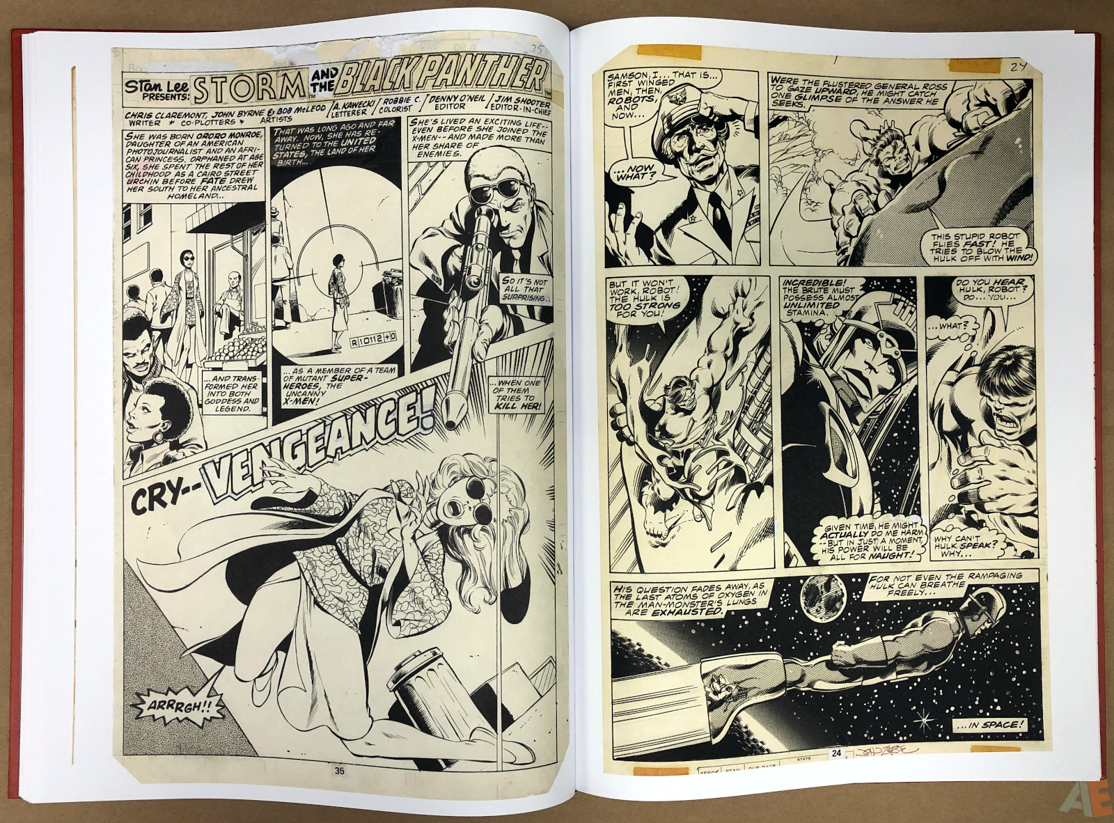 John Byrne's Marvel Classics Artifact Edition 32