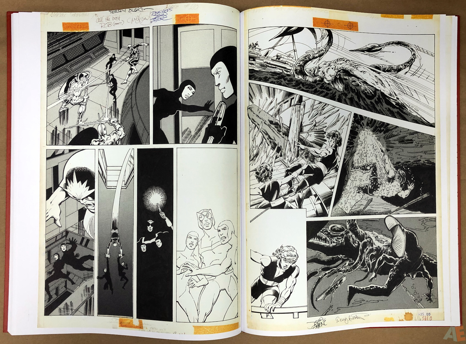 John Byrne's Marvel Classics Artifact Edition 36