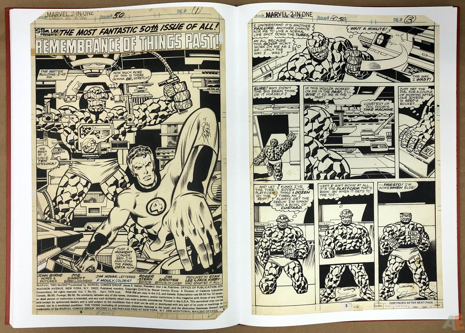 John Byrne's Marvel Classics Artifact Edition 38