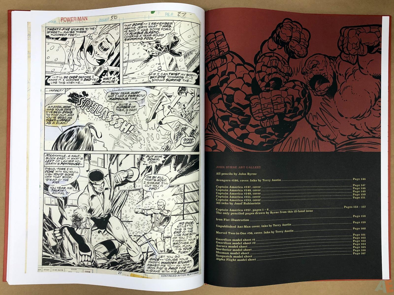 John Byrne's Marvel Classics Artifact Edition 42