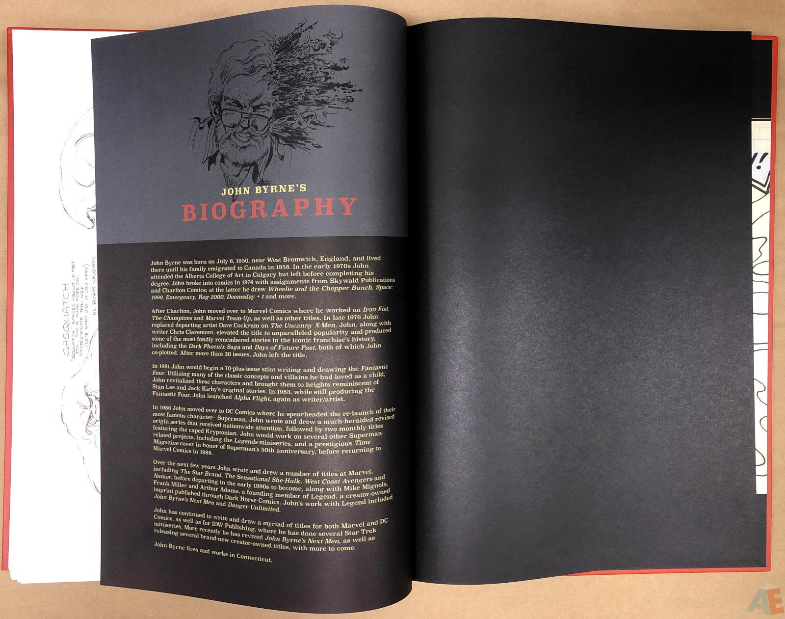 John Byrne's Marvel Classics Artifact Edition 52