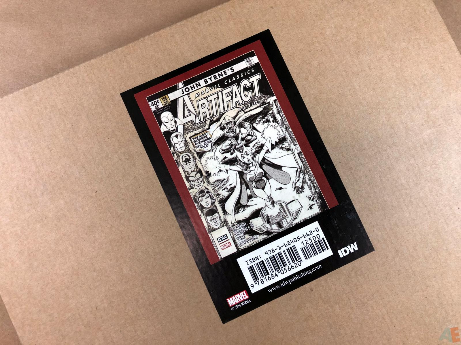 John Byrne's Marvel Classics Artifact Edition 54