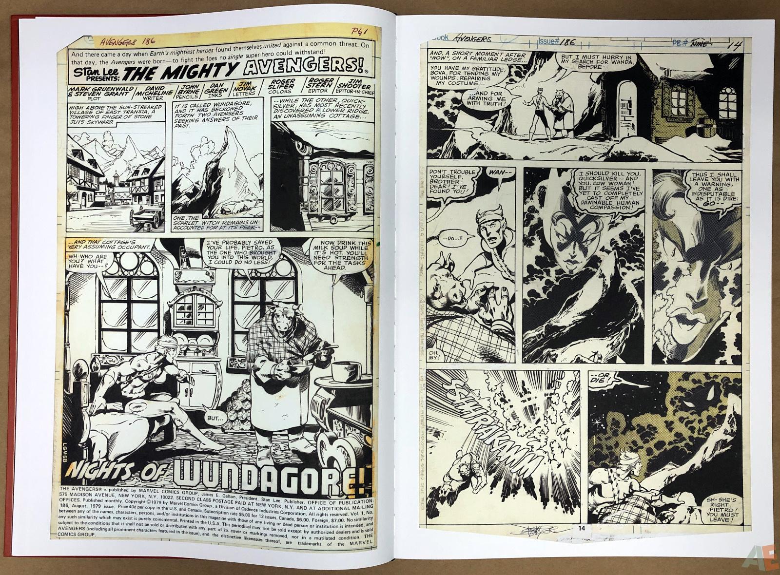 John Byrne's Marvel Classics Artifact Edition 14