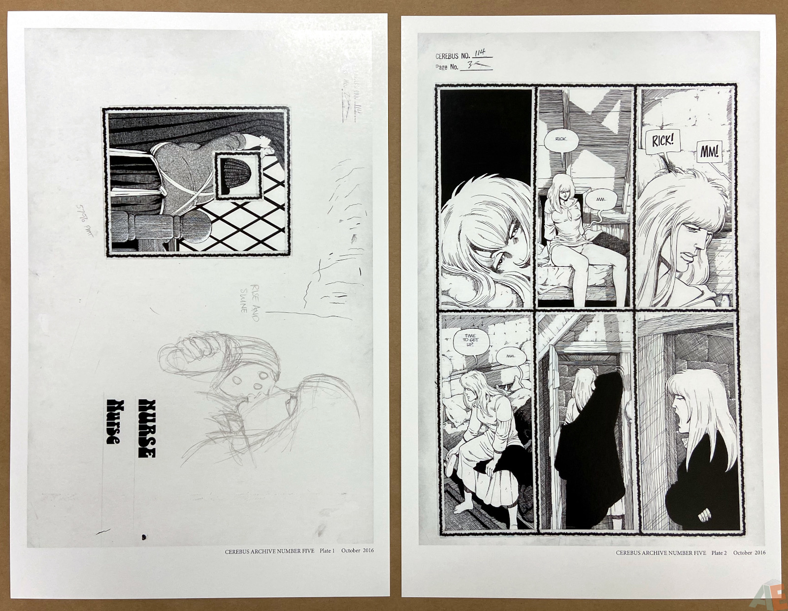 Cerebus Archive Number Five 4