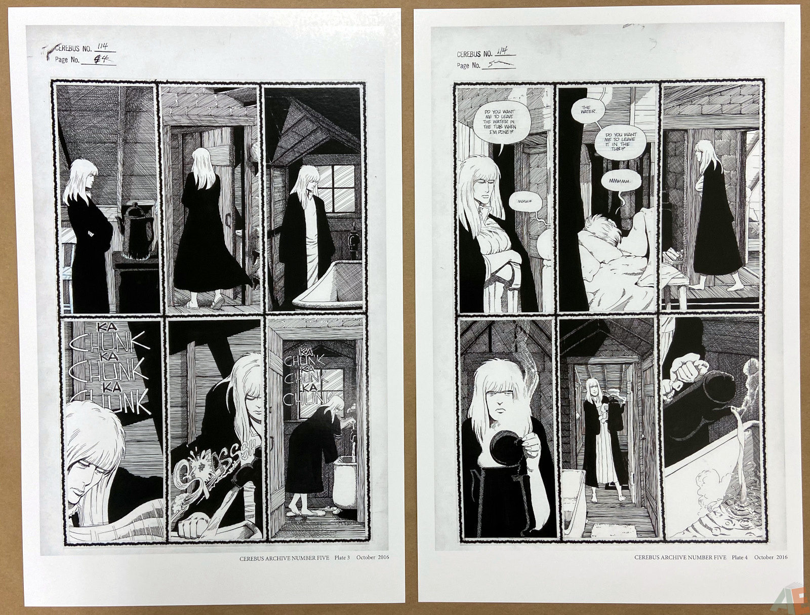 Cerebus Archive Number Five 6