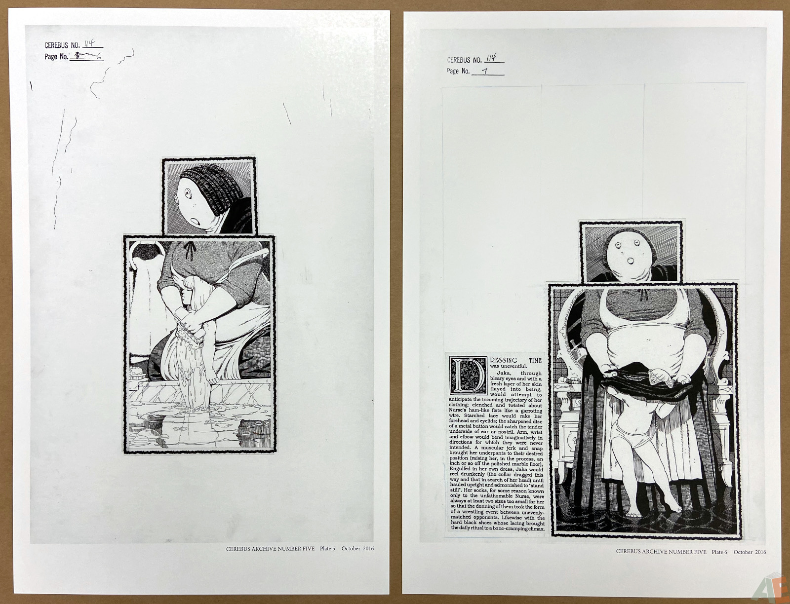 Cerebus Archive Number Five