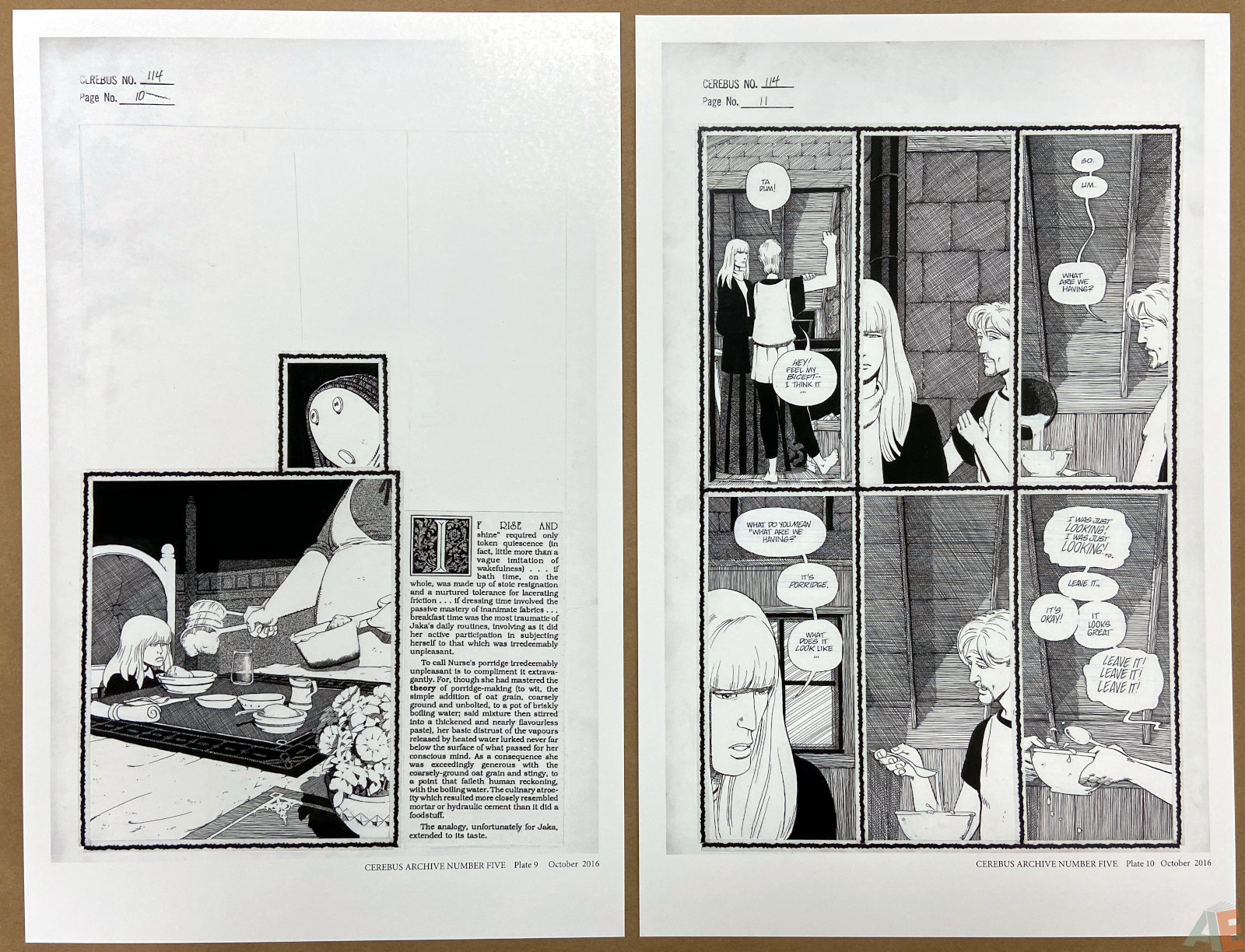 Cerebus Archive Number Five 12