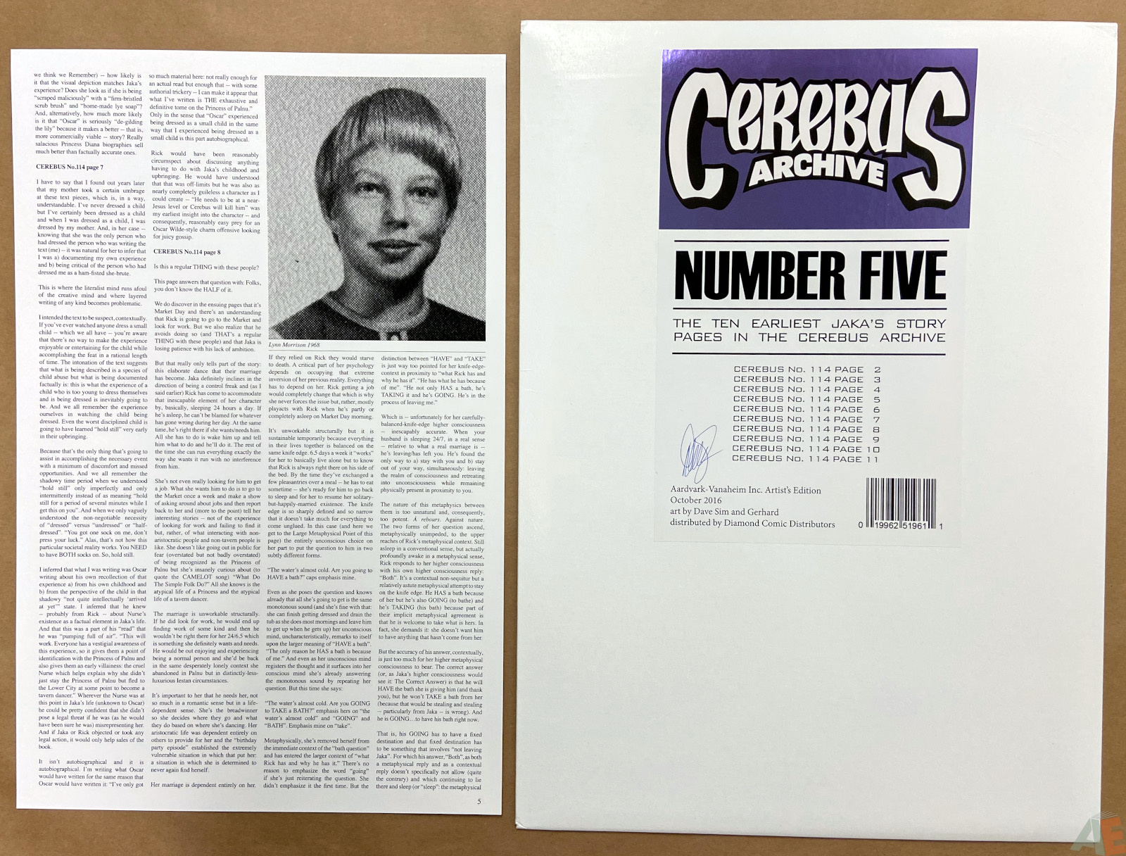 Cerebus Archive Number Five 16