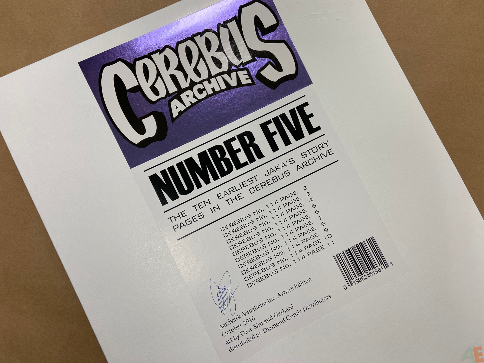 Cerebus Archive Number Five 18