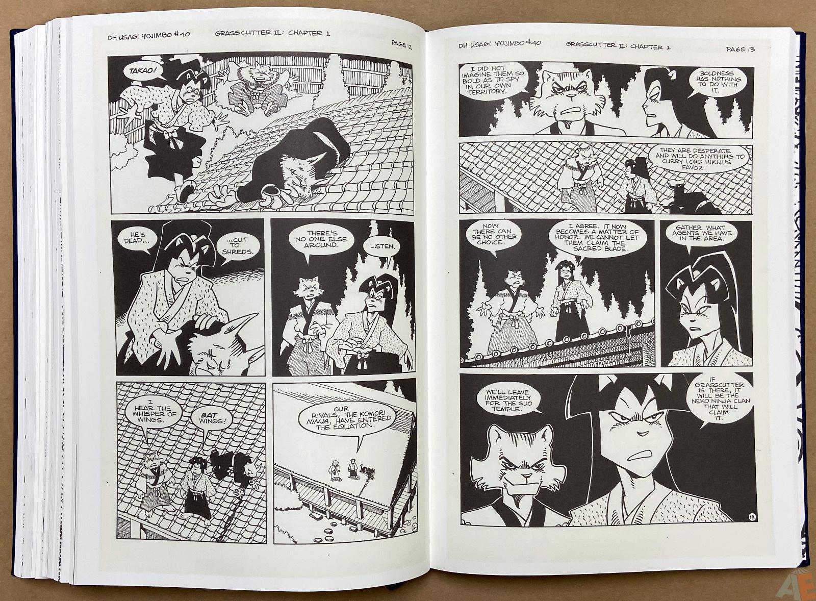 Stan Sakai Usagi Yojimbo: The Complete Grasscutter Artist Select 32