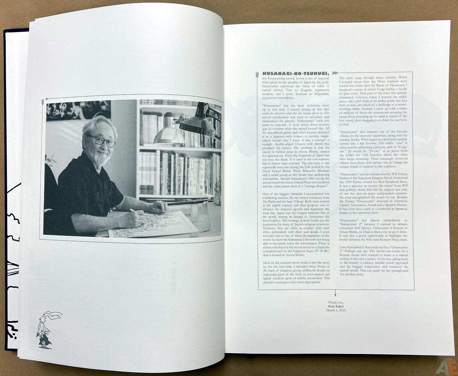 Stan Sakai Usagi Yojimbo: The Complete Grasscutter Artist Select 6
