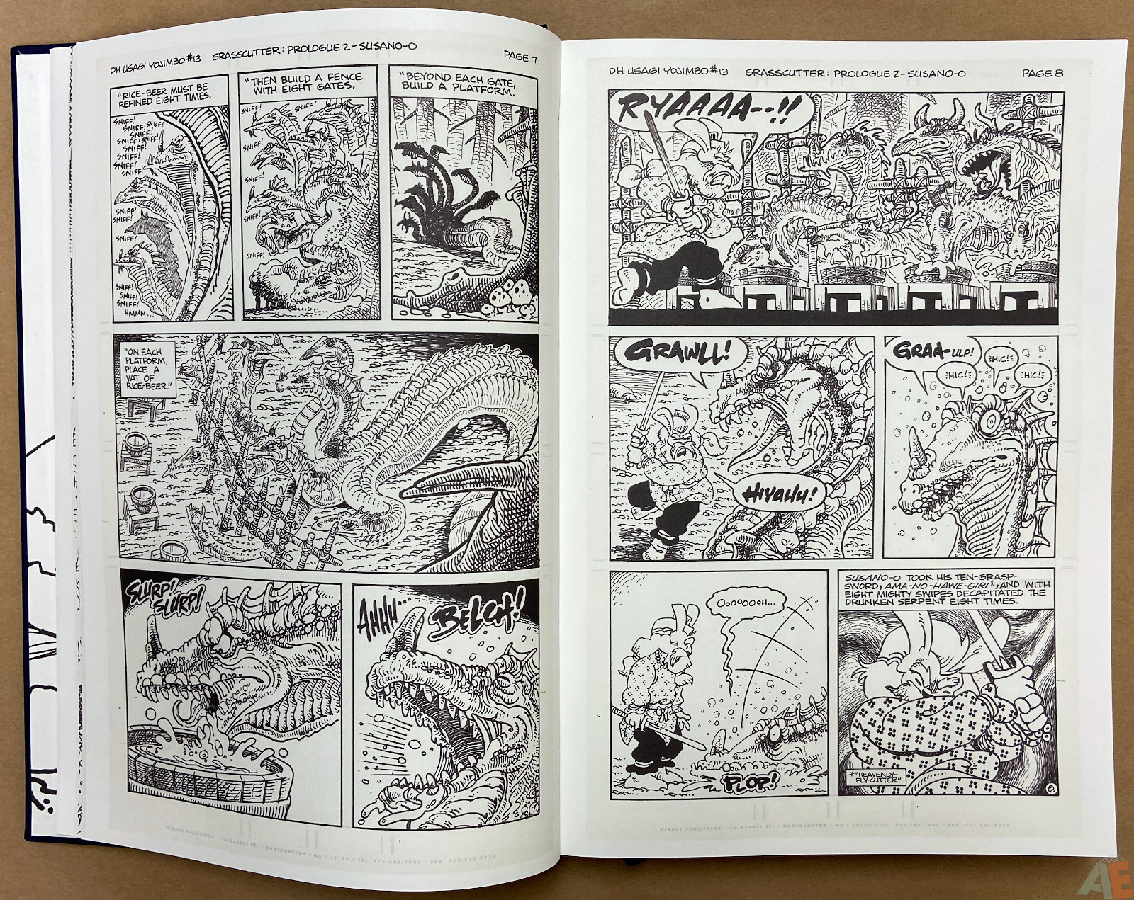 Stan Sakai Usagi Yojimbo: The Complete Grasscutter Artist Select 10