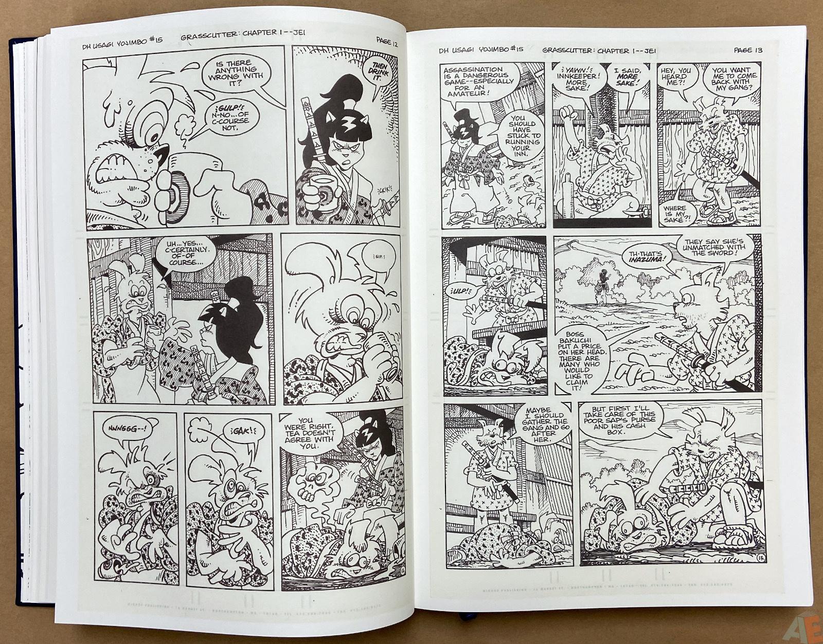 Stan Sakai Usagi Yojimbo: The Complete Grasscutter Artist Select
