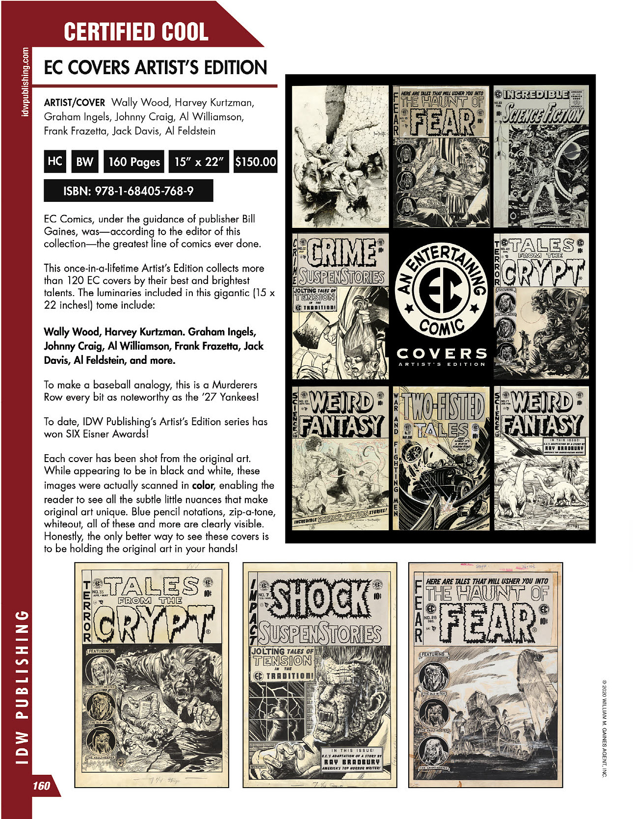 EC Covers Artists Edition Previews
