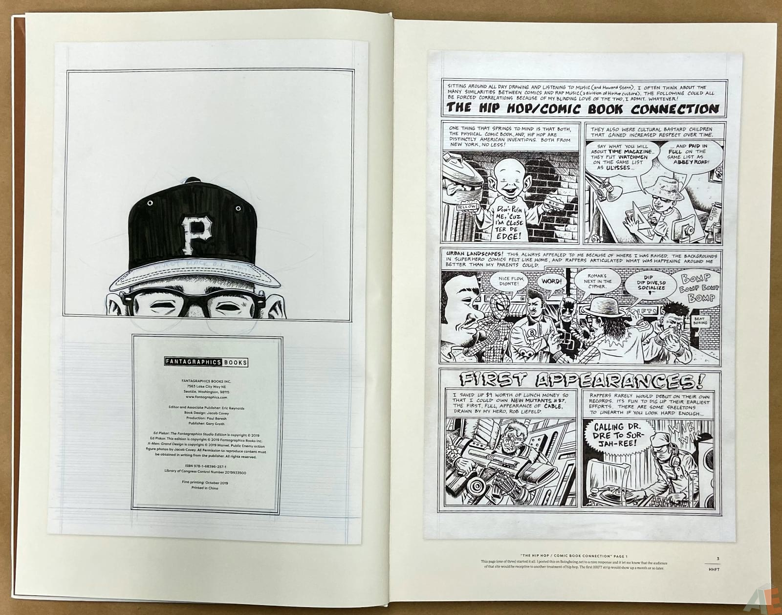 Ed Piskor The Fantagraphics Studio Edition interior 1