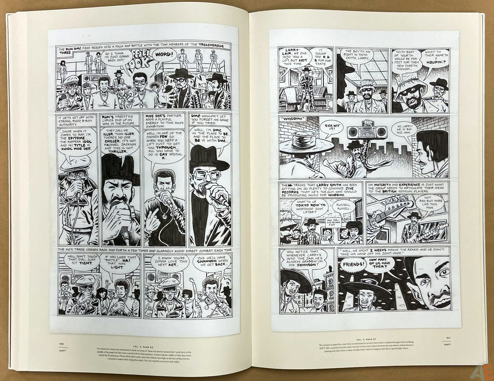 Ed Piskor The Fantagraphics Studio Edition interior 11