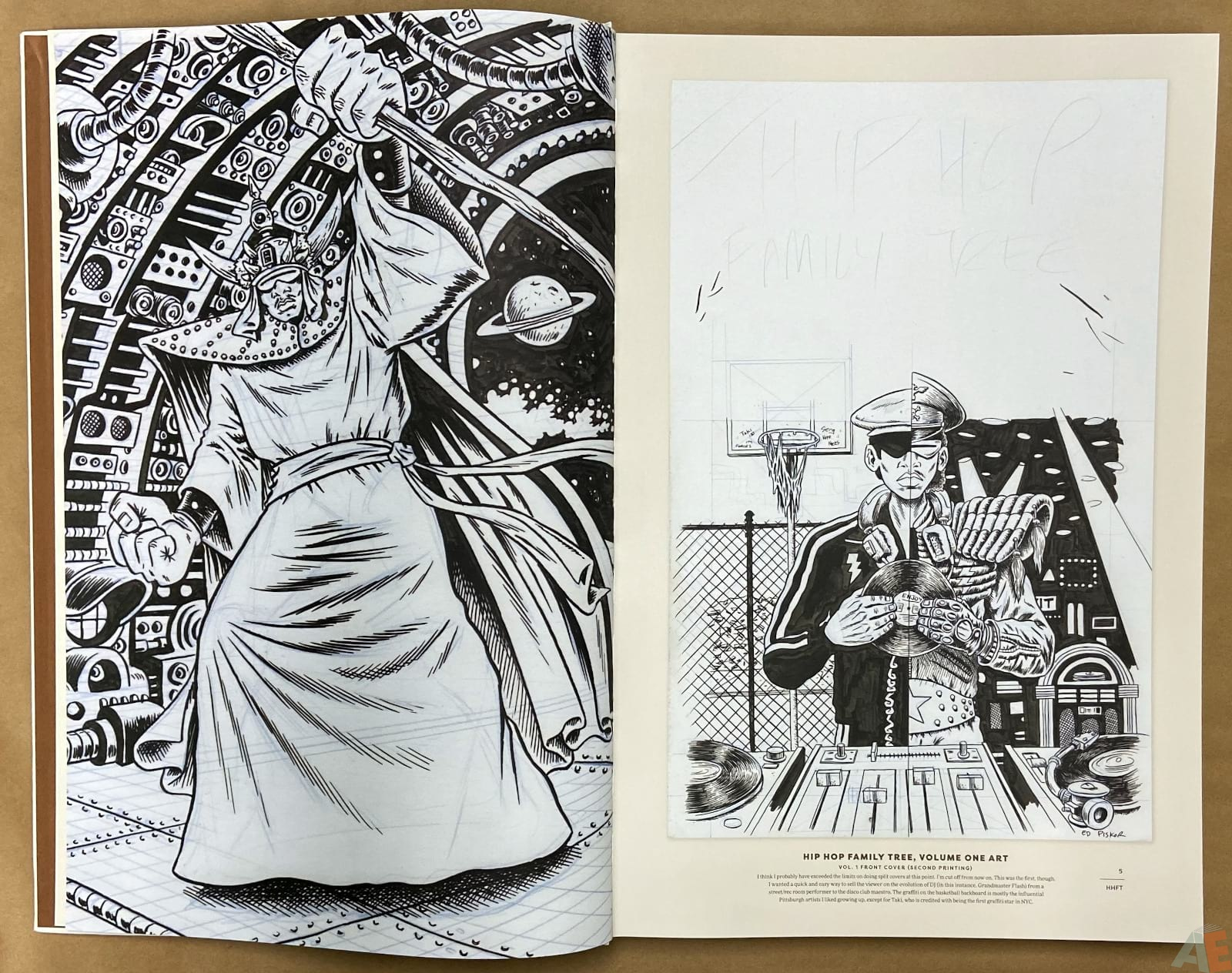 Ed Piskor The Fantagraphics Studio Edition interior 2