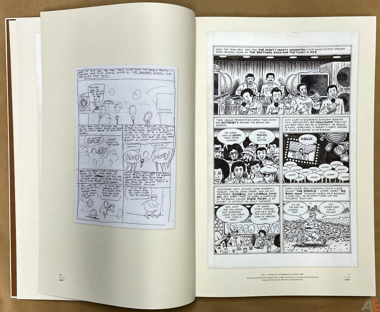 Ed Piskor The Fantagraphics Studio Edition interior 4