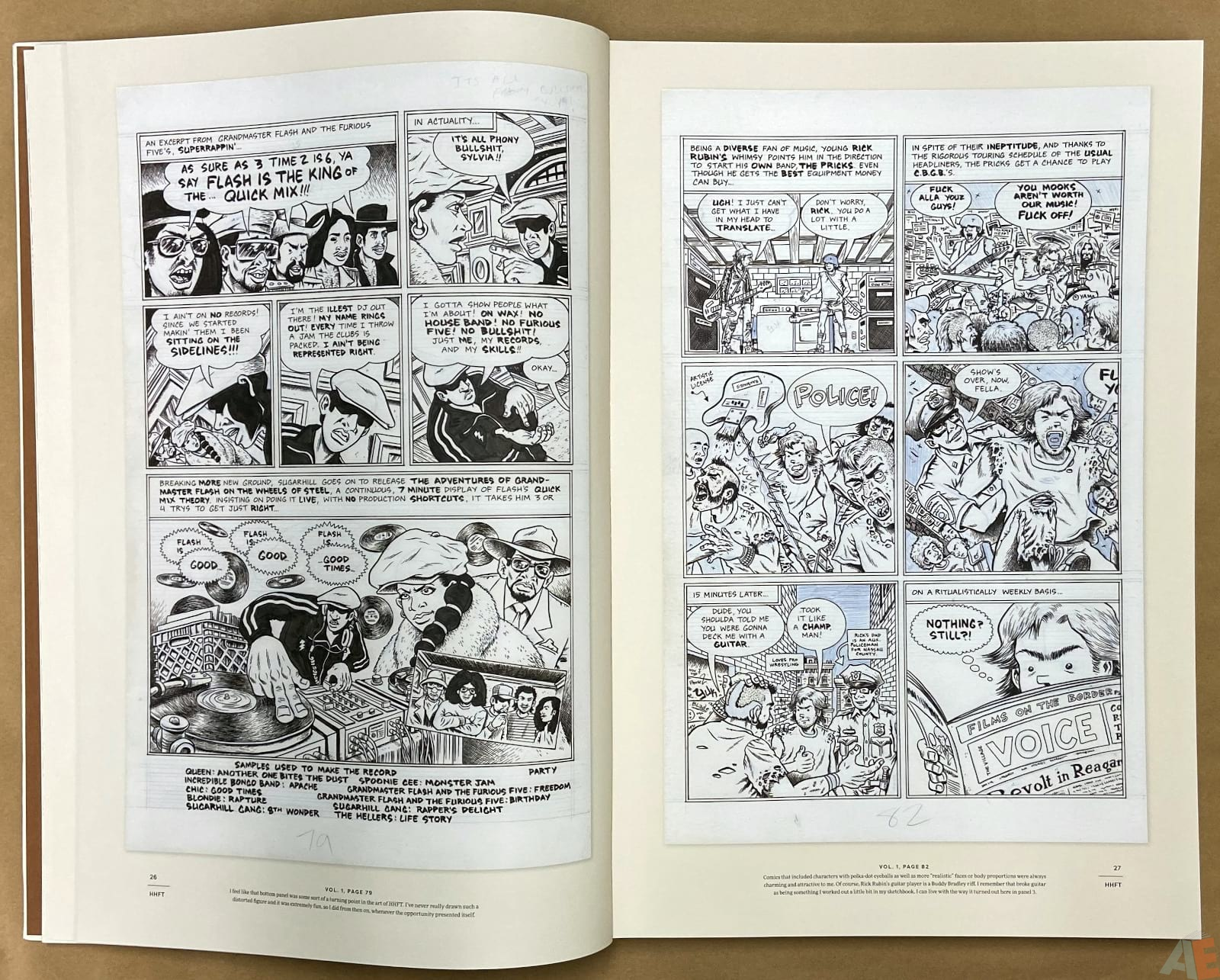 Ed Piskor The Fantagraphics Studio Edition interior 5