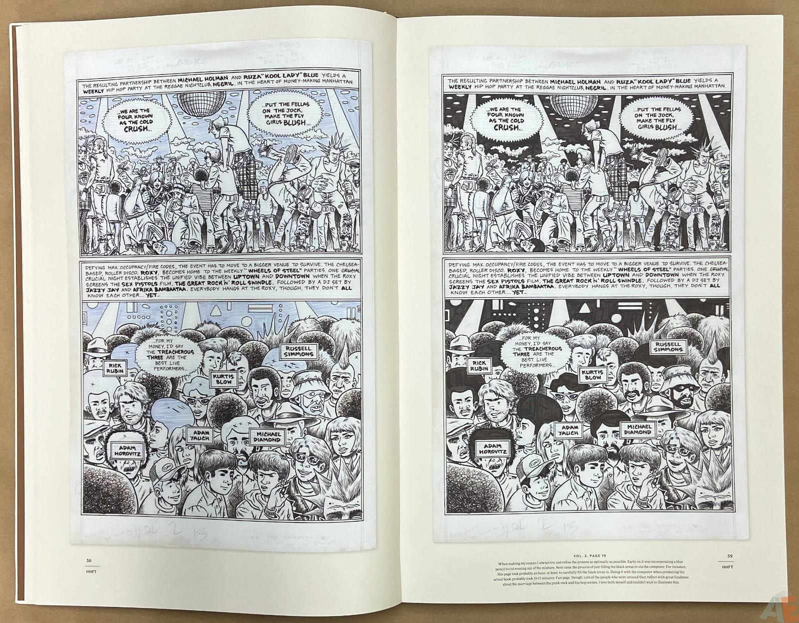 Ed Piskor The Fantagraphics Studio Edition interior 6