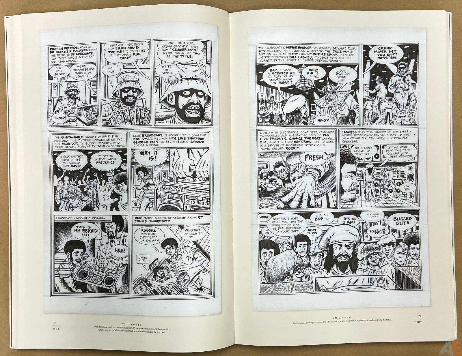 Ed Piskor The Fantagraphics Studio Edition interior 8