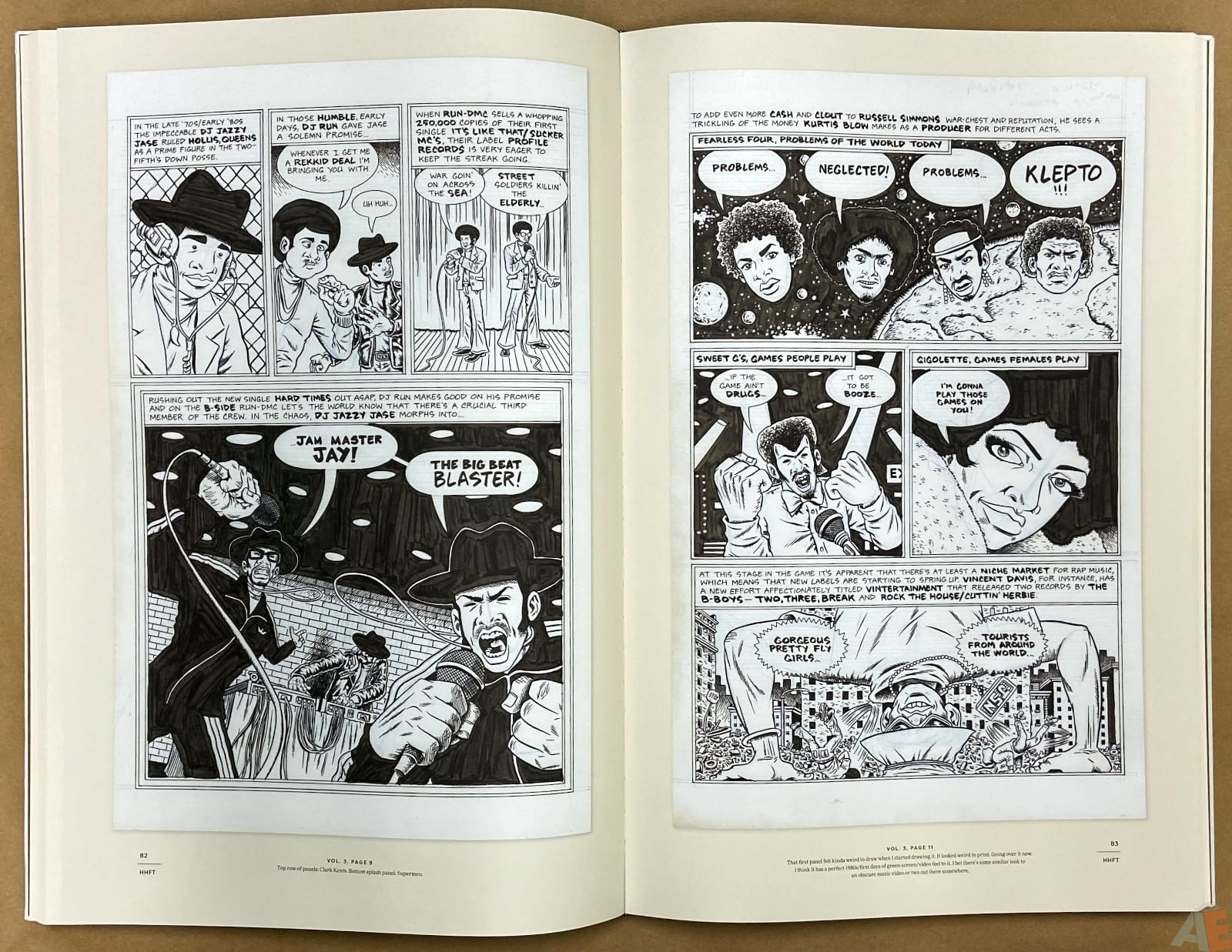 Ed Piskor The Fantagraphics Studio Edition interior 9
