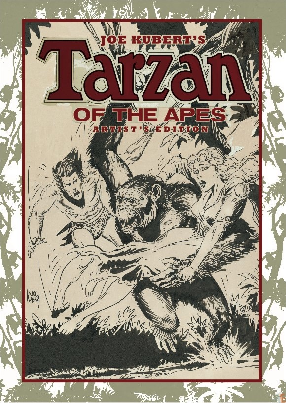 Joe Kubert's Tarzan of the Apes Artist's Edition Variant cover