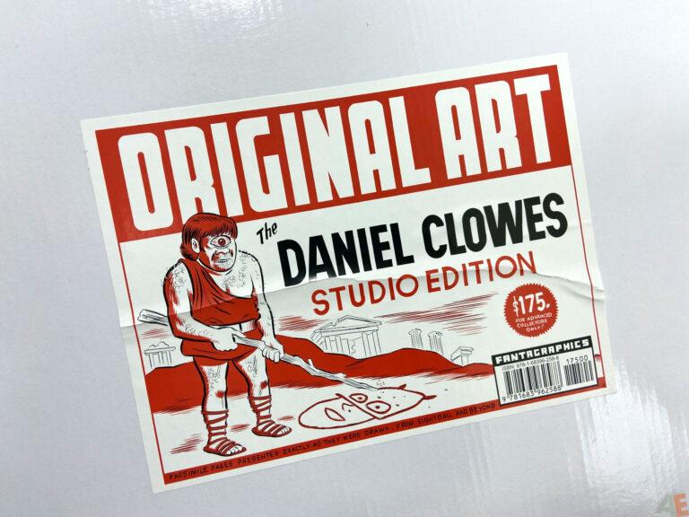 Original Art Daniel Clowes Studio Edition interior 26