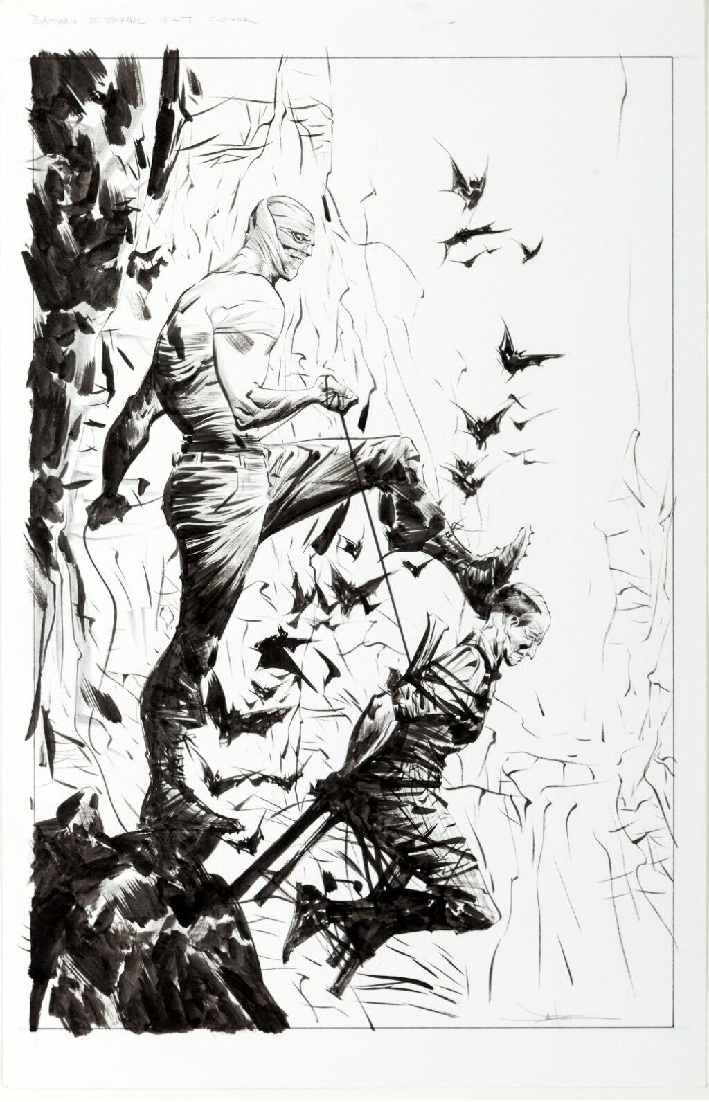 Batman Eternal issue 47 cover by Jae Lee