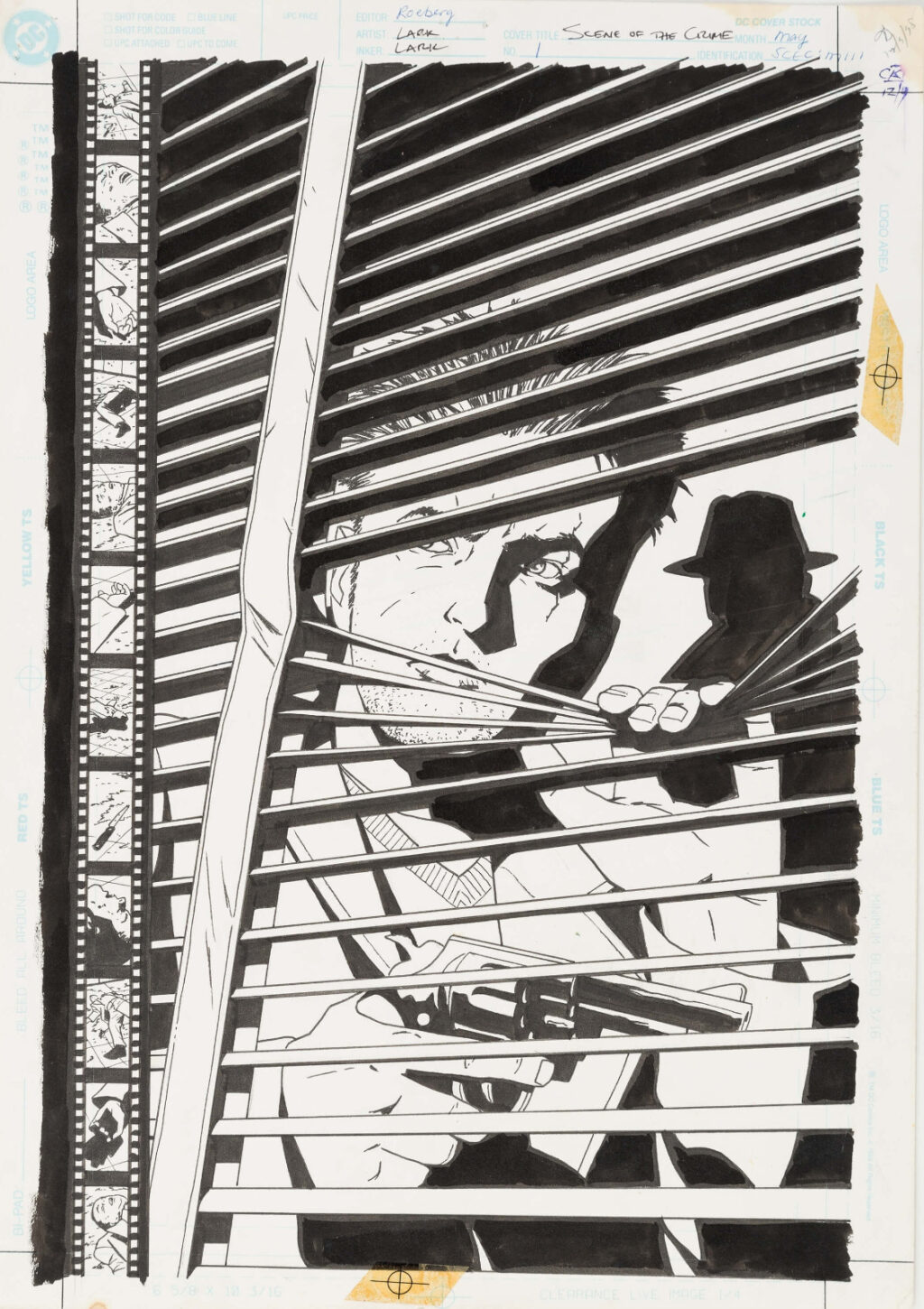 Scene of the Crime issue 1 cover by Michael Lark