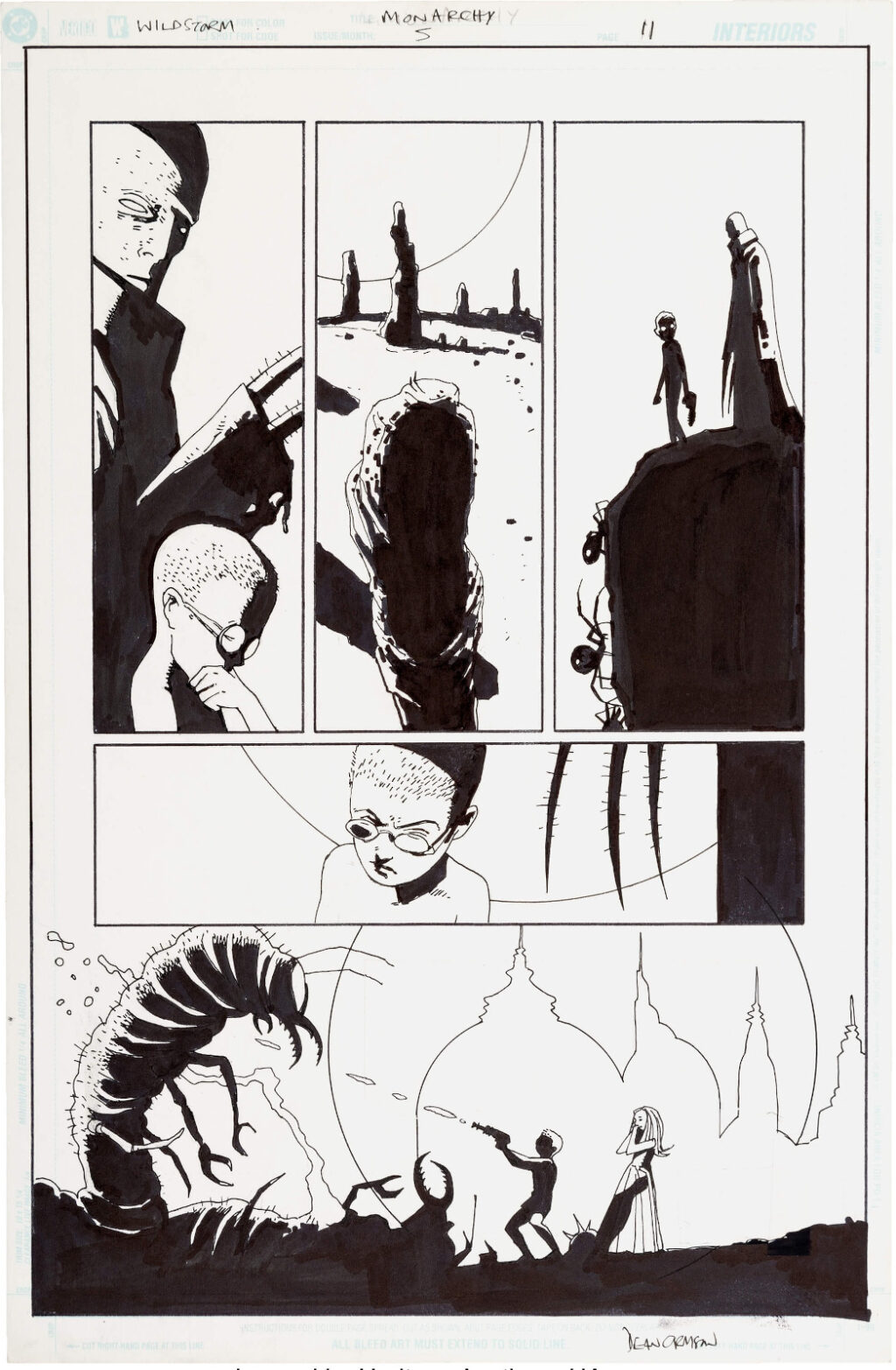The Monarchy issue 5 page 11 by Dean Ormston