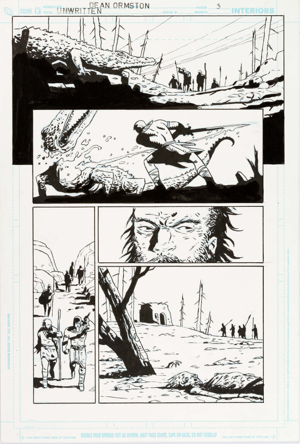 The Unwritten issue 32.5 page 3 by Peter Gross and Dean Ormston