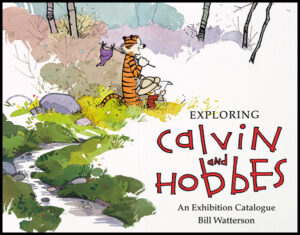 Exploring Calvin and Hobbes An Exhibition Catalogue cover
