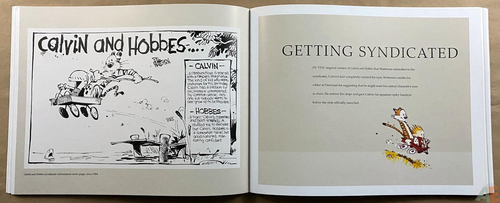Exploring Calvin and Hobbes An Exhibition Catalogue interior 2