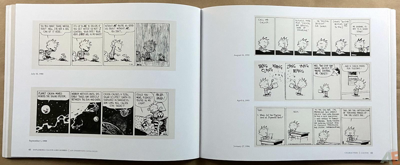 Exploring Calvin and Hobbes An Exhibition Catalogue interior 3