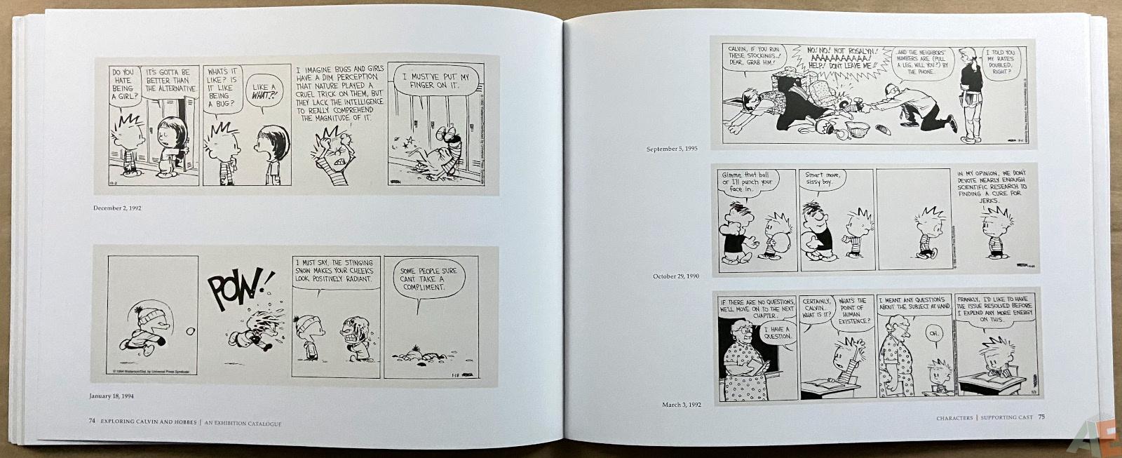 Exploring Calvin and Hobbes An Exhibition Catalogue interior 4