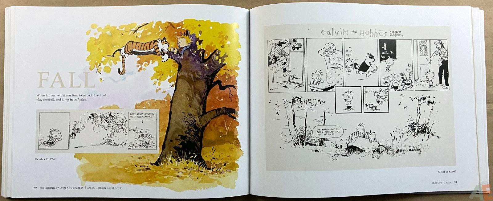 Exploring Calvin and Hobbes An Exhibition Catalogue interior 6