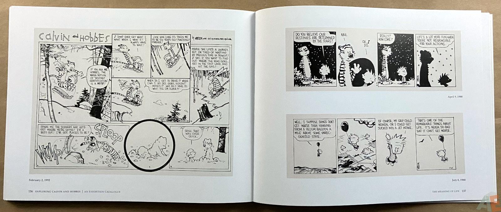 Exploring Calvin and Hobbes An Exhibition Catalogue interior 8