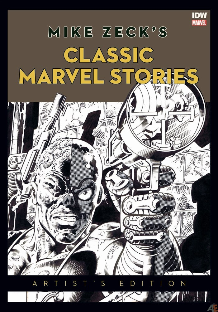 Mike Zeck's Classic Marvel Stories Artist's Edition Heroes Con variant cover