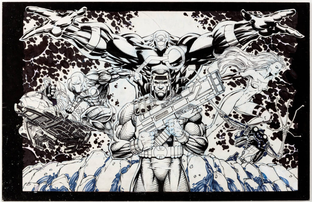 Stormwatch by Scott Clark and Jim Lee