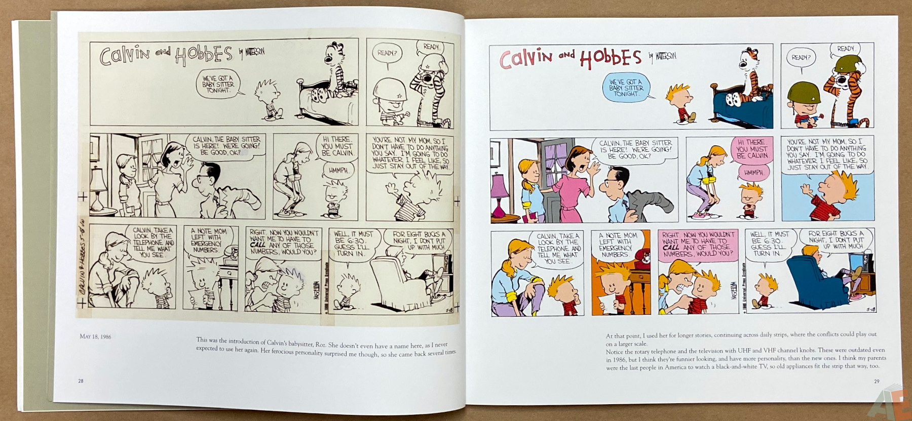 Calvin and Hobbes Sunday Pages 1985 1995 interior 3