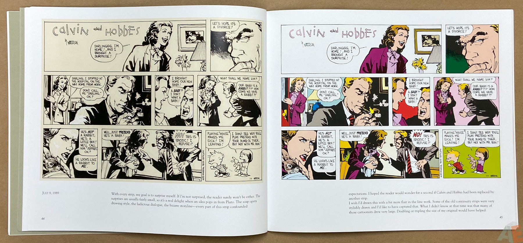 Calvin and Hobbes Sunday Pages 1985 1995 interior 5