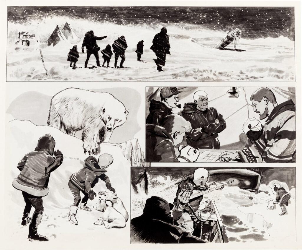 Jonny Quest storyboard 2 by Doug Wildey