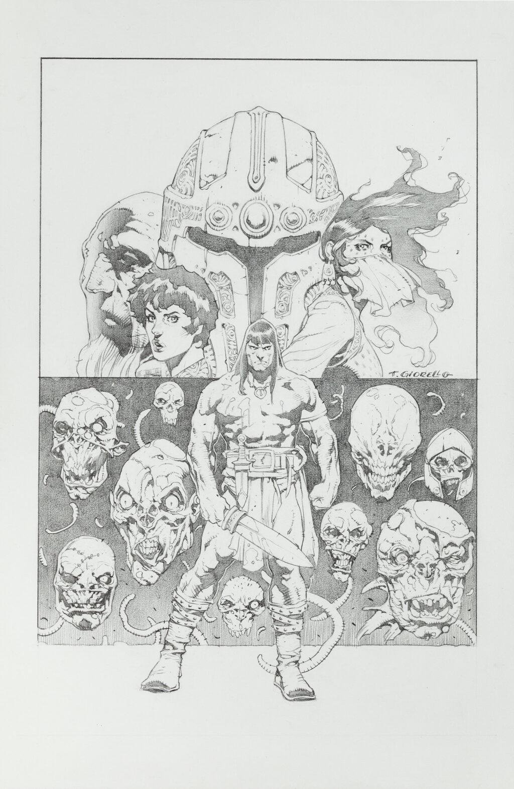 Conan issue 47 cover by Tomas Giorello