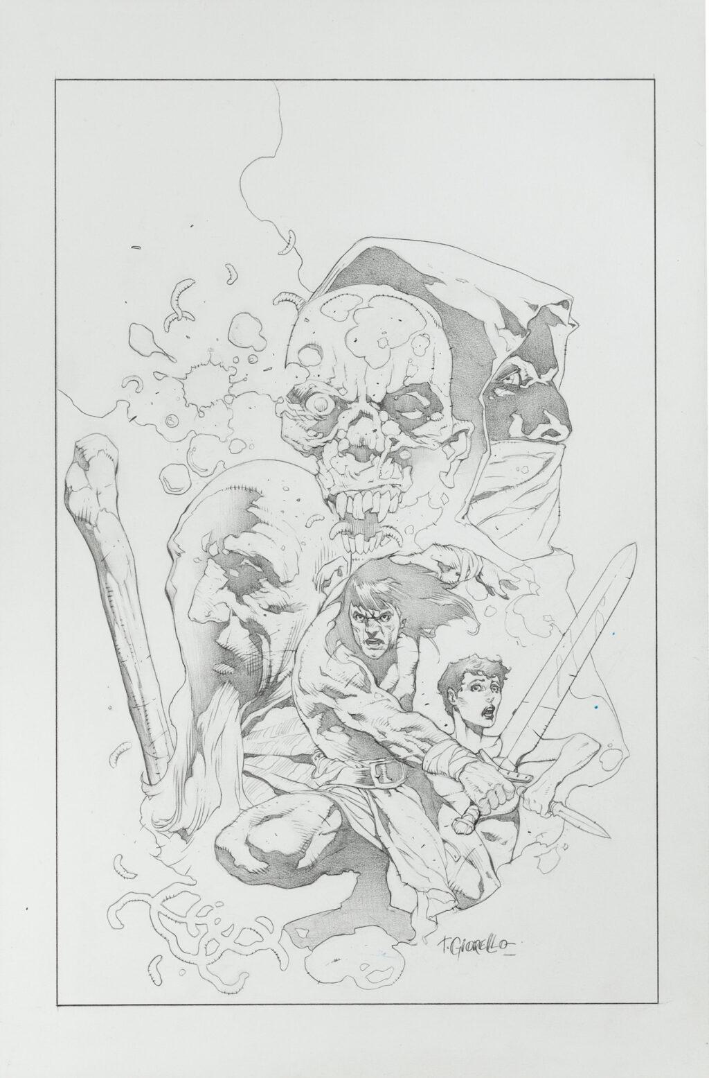 Conan issue 48 cover by Tomas Giorello
