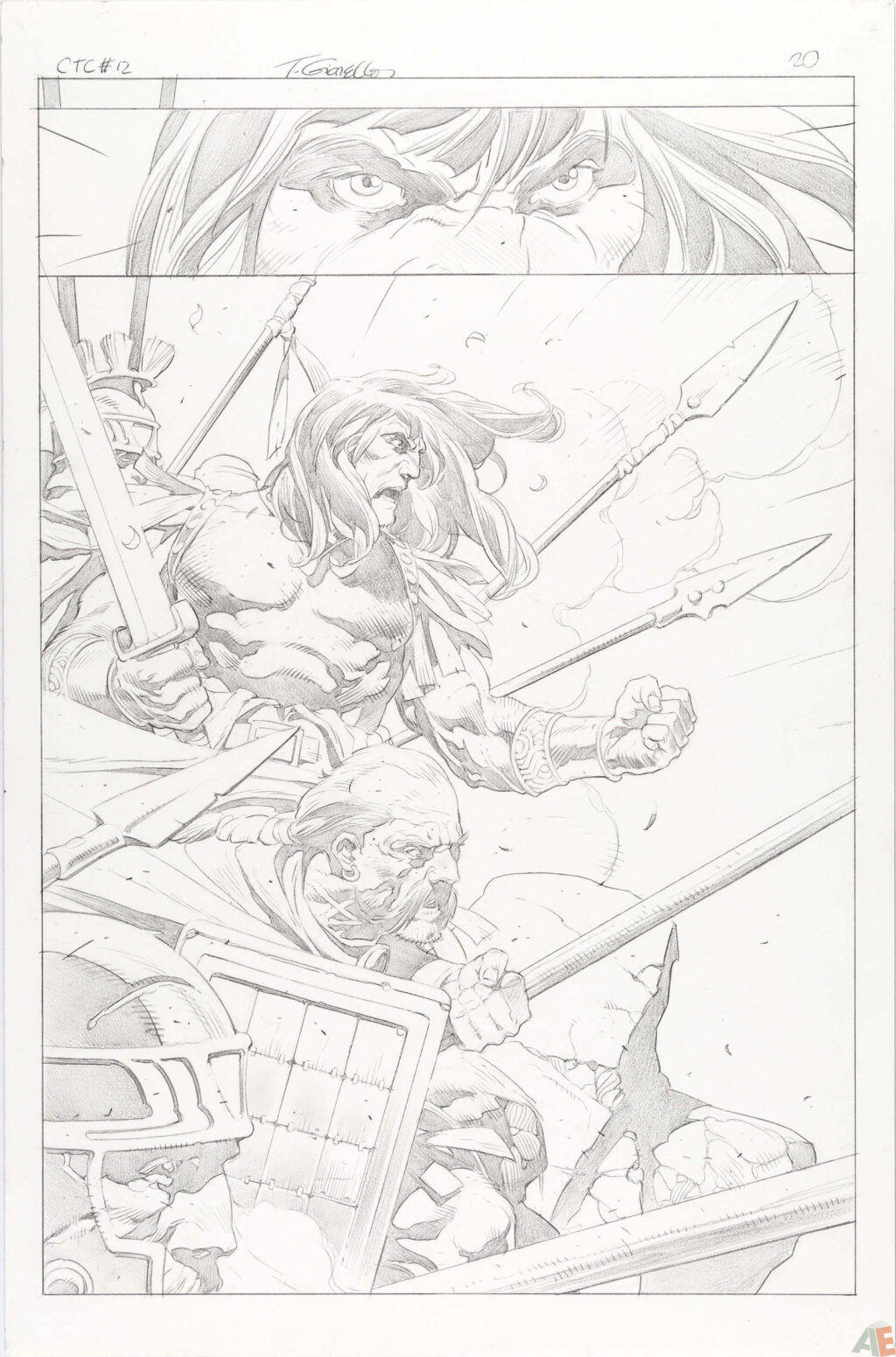 Conan the Cimmerian issue 12 page 20 by Tomás Giorello