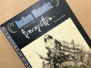 DocDave Winiewicz Frazetta Collection Auction Catalog interior 16