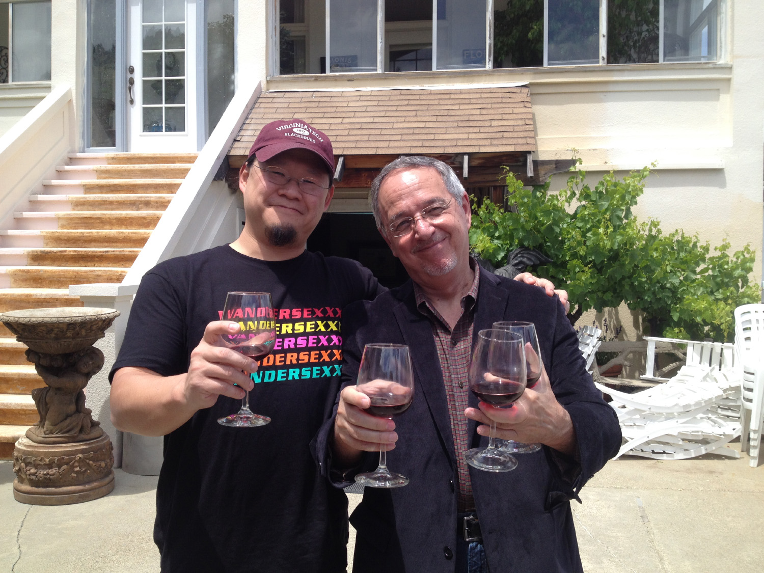 Kelvin Mao and Mike Zeck