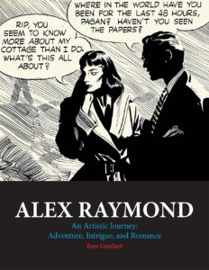Alex Raymond An Artistic Journey cover