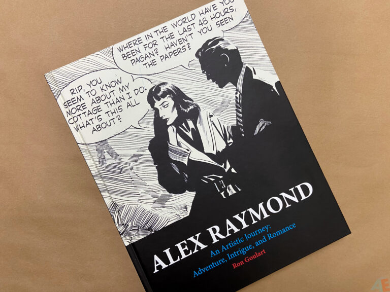 Alex Raymond An Artistic Journey interior 19